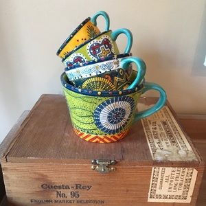 Anthropologie Measuring Cups   Set of Four